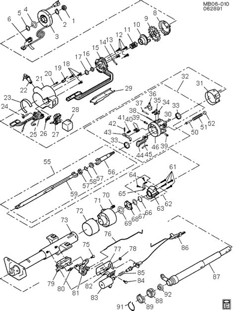 chevy truck steering column diagram chevy steering parts diagram chevy free engine image for