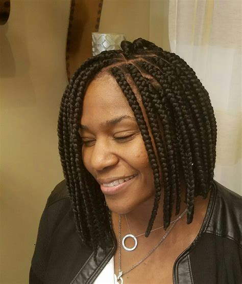 what isnthe length for box braids shoulder length box braids yelp