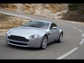 2007 Aston Martin Vantage Specs 2007 Aston Martin V8 Vantage Silver Front And Side Speed