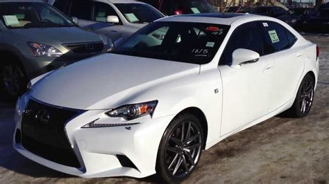 white lexus is 350 2014 lexus is 350 awd executive f sport package in ultra
