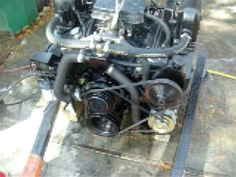 350 chevy boat engine 5 7 small block chevy 350 rebuilt marine engine test youtube