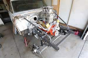1962 chevrolet gasser front subframe install