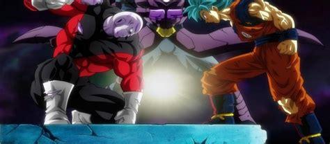 imagenes de goku jiren y hit dragon ball super 104 goku y hit vs jiren sorprenden a