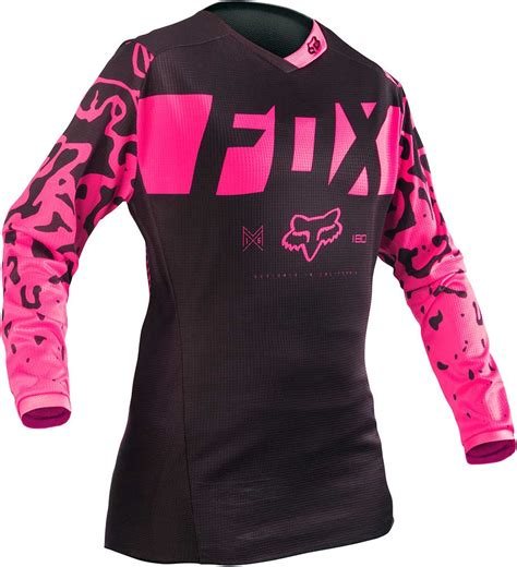 pink motocross jersey 2016 fox racing 180 girls youth jersey motocross