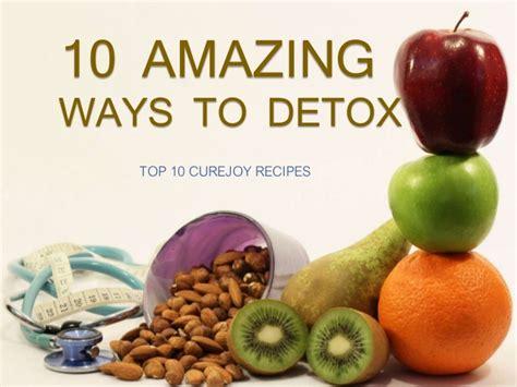 Ways To Detox Lead by 10 Amazing Ways To Detox
