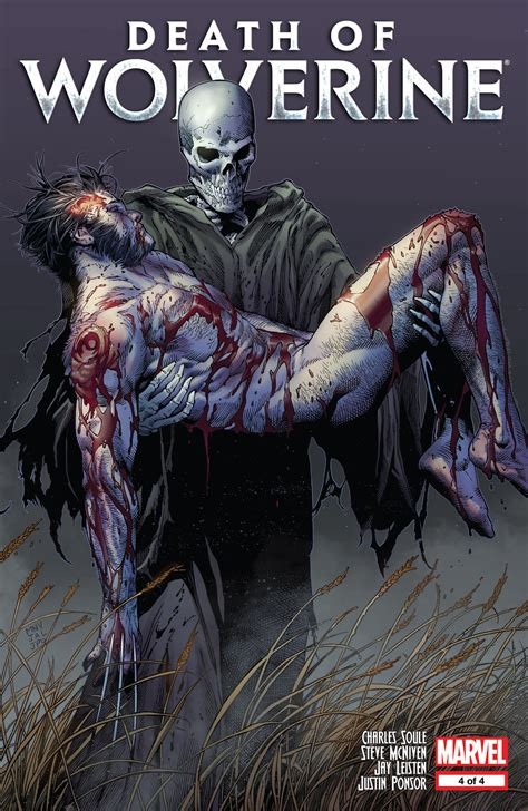 death of wolverine marvel comics weekly event review spoilers death of wolverine 4 by charles soule steve