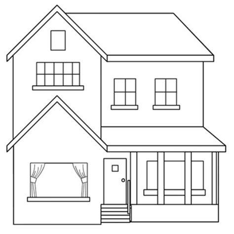 Imagenes De Casas Lindas Para Dibujar | casas para colorear