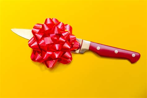 gift knives is it bad luck to give knives as a gift howstuffworks