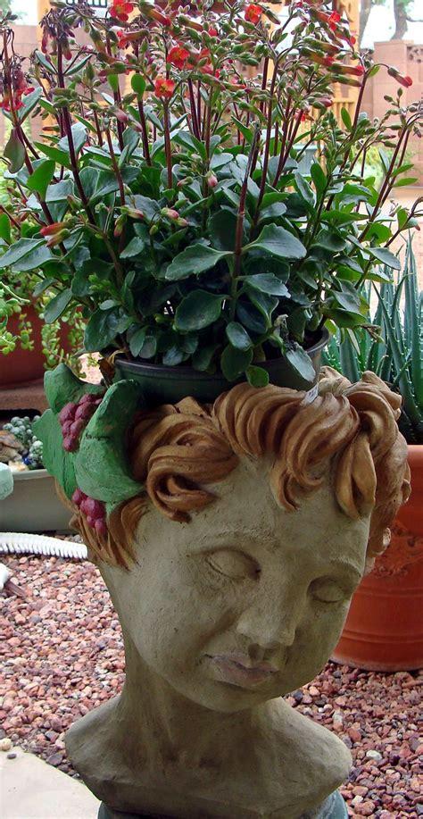 medusa planter 554 best images about head planters on pinterest gardens