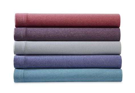 jersey knit sheets essential home jersey knit sheet set home bed bath