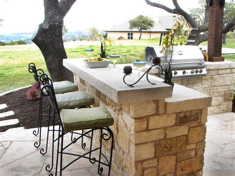 how to make an outdoor bar top outdoor kitchens and grilling spaces diy outdoor spaces