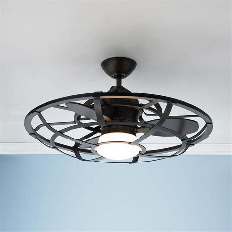 industrial looking ceiling fans industrial cage ceiling fan industrial the white and style