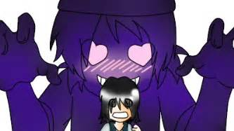 Purple guy x phone guy by gatita200 on deviantart