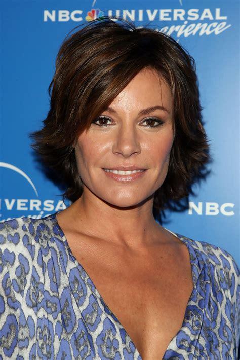 new york city housewives hairstyles luann de lesseps layered razor cut layered razor cut