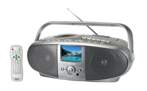 Tv Radio pc 6089 pll am fm stereo radio dvd tv player with cassette recorder and tft lcd display