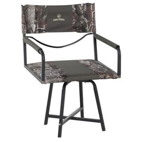 swivel blind chair folding swivel seat winner gear