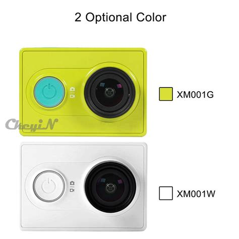 Xiaomi Yi Wifi 16mp 1080p 60 Fps 2 original xiaomi yi 1080p hd 60fps wifi bluetooth 4 0 16mp xiaoyi sport