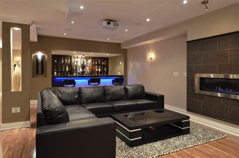 modern basement living room modern basements 22 design ideas enhancedhomes org