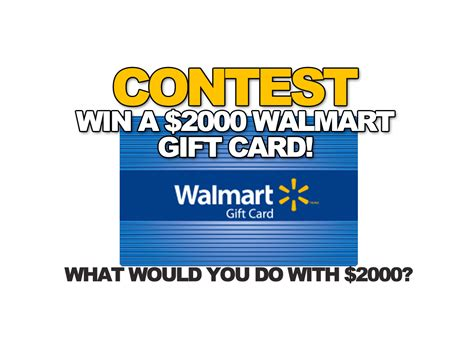 Walmart Gift Card Canada - walmart canada contest enter for a chance to win a 2000 walmart gift card