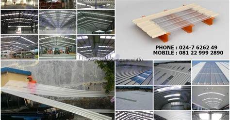 Jual Lu Projie Semarang update distributor galvalume transparan skylight paksadek