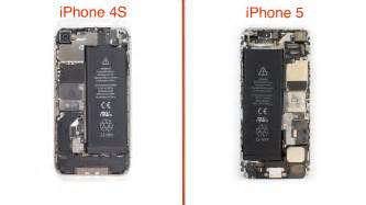 how to open a iphone 5s iphone 5 teardown redesigned and interior simplify repairs techrepublic