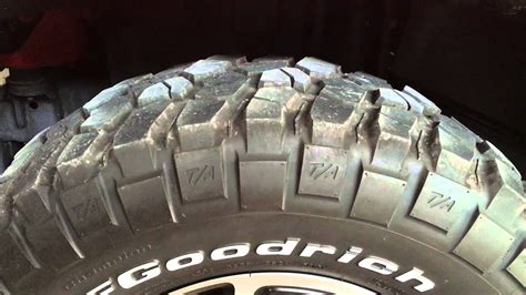 tire cupping certified  jeep rubicon youtube