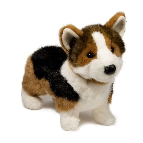 tri color corgi kirby tri colored corgi douglas toys