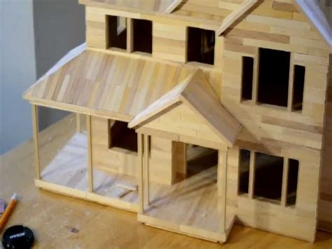 popsicle stick house popsicle stick house floor plans