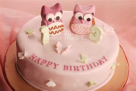 Lilin Ulang Tahun Owl owl cake made cakes