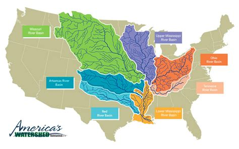 mississippi river on map of united states improvement needed in the mississippi river basin