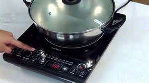 Induction Or Electric Cooktop Havells Induction Cooktop Demonstration Video Youtube