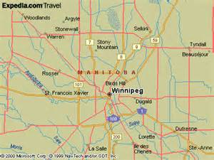 winnipeg manitoba canada map winnipeg maps