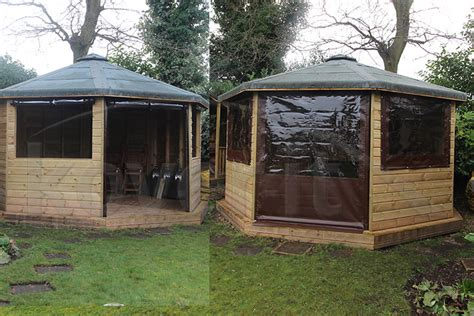 gazebo side curtains outdoor waterproof side panels and gazebo side sheets