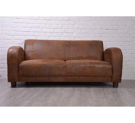 canap 233 1930 aspect vieux cuir 3 places 3188