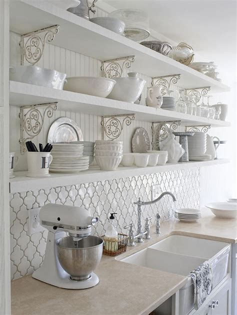 Backsplash For A White Kitchen | more kitchen dreaming
