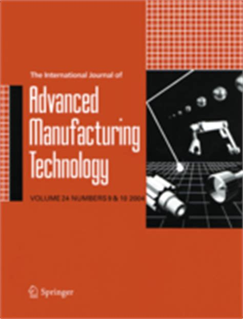 design and technology journal guide the international journal of advanced manufacturing