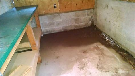 water coming in basement water coming through basement wall in beaverton