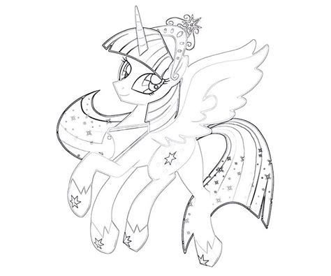 mlp coloring pages princess twilight mlp twilight sparkle coloring pages