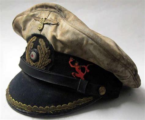 german u boats for sale kreigsmarine cap u 552 erich topp u boat captains cap