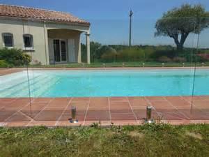 barriere infrarouge piscine barri 232 re de piscine en verre sans poteau amext
