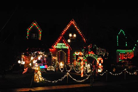 peacock lane portland holiday christmas lights pictures
