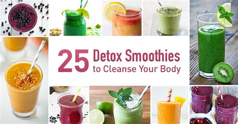 How To Make Healthy Detox Smoothies by Detox Smoothies 25 Easy Recipes To Cleanse Your