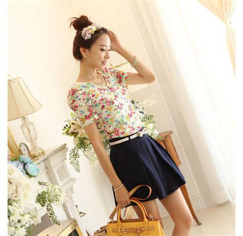 Baju Dress Cantik Brukat Bunga Putihnavy Limited atasan wanita bunga bunga cantik model terbaru jual