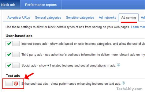 adsense generator how to remove arrows icons from adsense ads