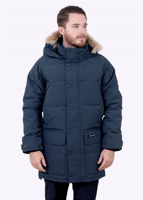canada goose uk emory ink canada goose emory parka ink blue triads mens from