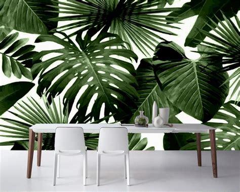 banana palm wallpaper beibehang classic retro wallpaper tropical rain forest