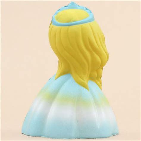 squishy dress princess in blue dress scented squishy kawaii leilei