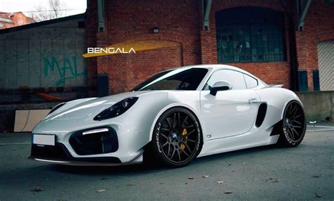 widebody porsche 918 rendering bengala porsche cayman wide body