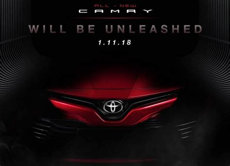 Toyota 2019 Malaysia by 2019 Toyota Camry In Malaysia Soon Early Details