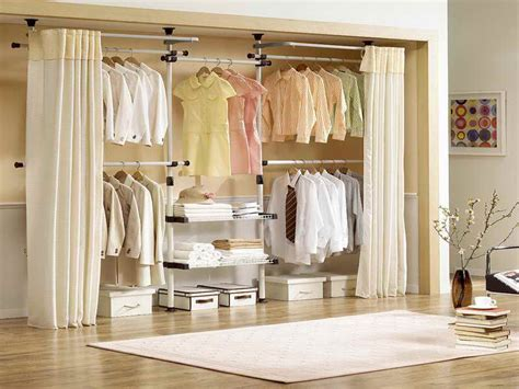 Closet Curtain Ideas by Create A New Look For Your Room With These Closet Door Ideas